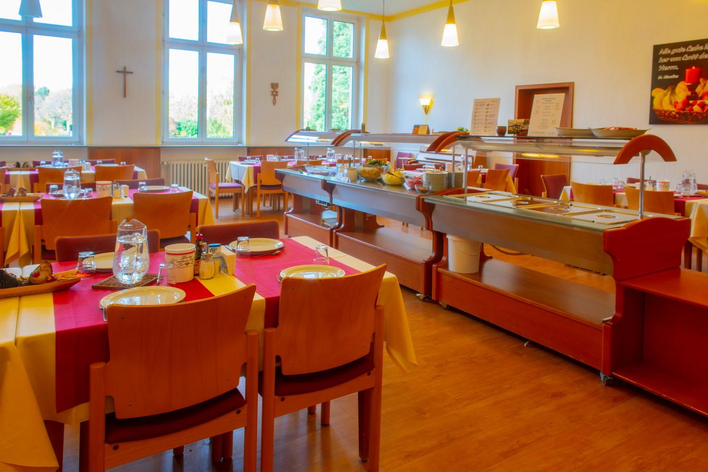 Speisesaal Gästehaus Oase