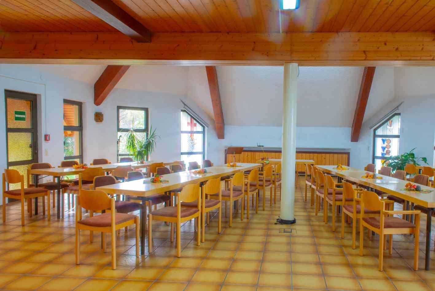 Konferenzraum Gästehaus Oase